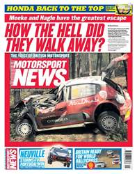 Motorsport News issue 23rd May 2018