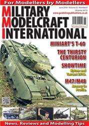 Military Modelcraft International issue June 2018