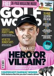 Golf World issue August 2018
