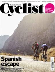 Cyclist issue July 2018