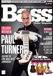 Bass Guitar issue June 2018