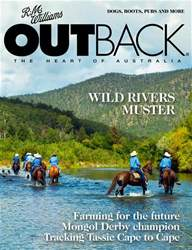 OUTBACK 119 issue OUTBACK 119