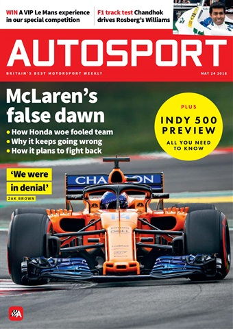 Autosport issue 24th May 2018