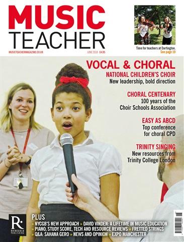 Music Teacher issue June 2018