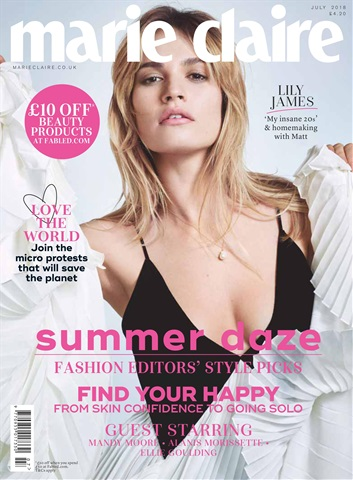 Marie Claire issue July 2018
