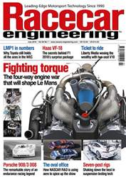 Racecar Engineering issue July 2018