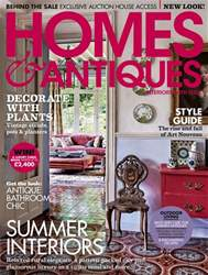 Homes & Antiques Magazine issue July 2018