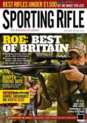 Sporting Rifle Magazine Cover