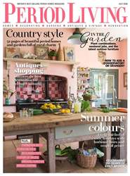 Period Living Magazine issue July 2018