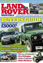 Land Rover Monthly issue July 2018