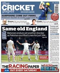 The Cricket Paper issue 25th May 2018