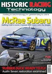 Historic Racing Technology Issue 16 issue Historic Racing Technology Issue 16