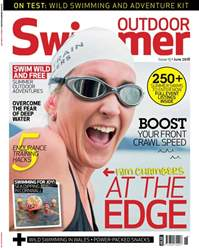 Outdoor Swimmer Magazine Cover