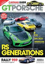 GT Porsche issue July 2018