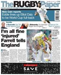 The Rugby Paper issue 27th May 2018