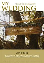 My Wedding issue June 2018