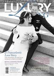 Luxury living  Magazine issue Luxury living  Magazine