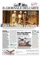 Il Giornale Dell'Arte issue Giugno