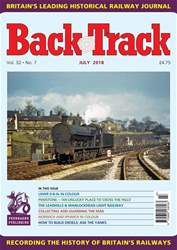 Backtrack issue July 2018