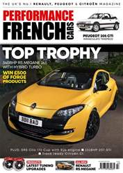 Performance French Cars issue Jul / Aug 18