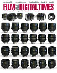 Film and Digital Times issue June 2018 - Issue 88