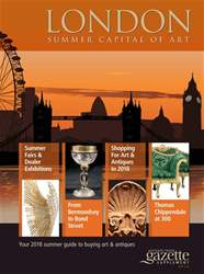 London Summer Capital of Art 2018 issue London Summer Capital of Art 2018