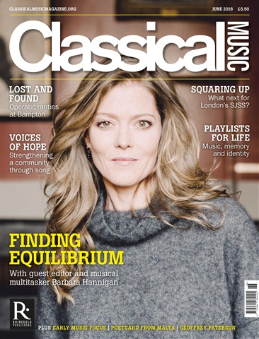 Classical Music issue June 2018