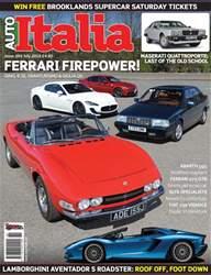 Auto Italia Mag 269 issue Auto Italia Mag 269