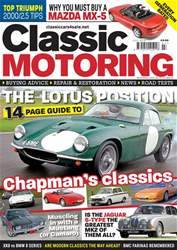 Classic Motoring issue Jul-18