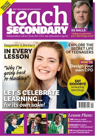 Teach Secondary issue V.7 No.4