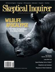 Skeptical Inquirer issue July/August 2018