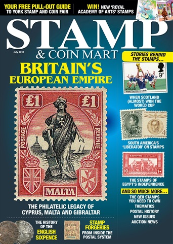 Stamp & Coin Mart issue July 2018