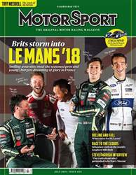 Motor Sport Magazine issue July 2018