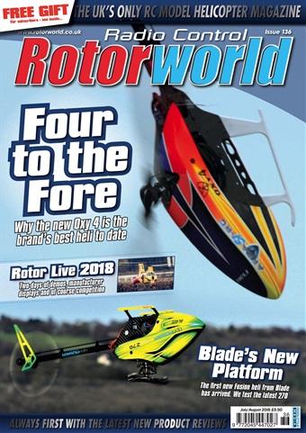 Radio Control Rotor World issue 136 July 2018