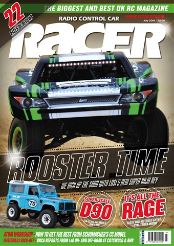 Radio Control Car Racer issue July 2018