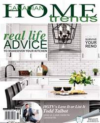 Canadian Home Trends issue Kitchen and Bath 2018