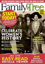 Family Tree July 2018 issue Family Tree July 2018