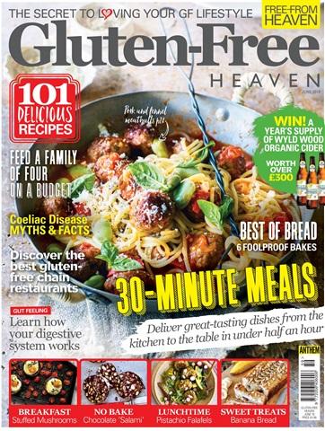Gluten-Free Heaven issue Gluten-Free Heaven June/July 2018
