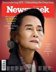 Newsweek International Magazine Cover