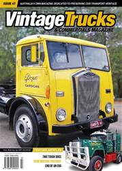 Vintage Trucks & Commercials issue May-June 2018