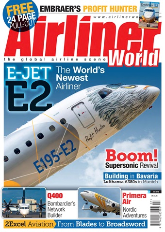 Airliner World issue   July 2018