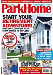 Park Home & Holiday Caravan issue July 2018