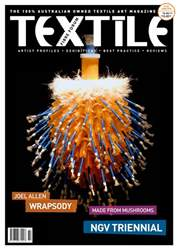 Textile Fibre Forum Issue 130 issue Textile Fibre Forum Issue 130