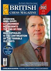 British Chess Magazine issue June 2018