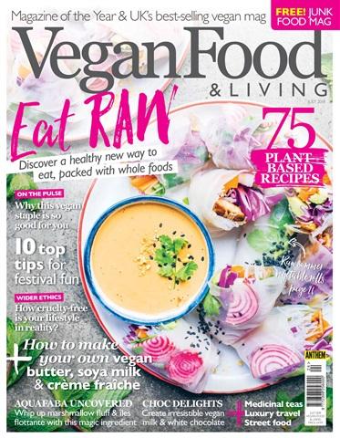 Vegan Food & Living Magazine issue Jul-18