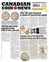 Canadian Coin News issue V56#06 - June 26