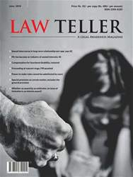Lawteller – A Legal Awareness Magazine issue June 2018