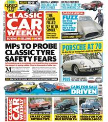Classic Car Weekly Magazine Cover