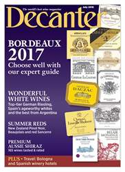 Decanter issue July 2018