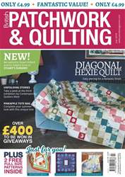 Patchwork and Quilting issue Jul-18